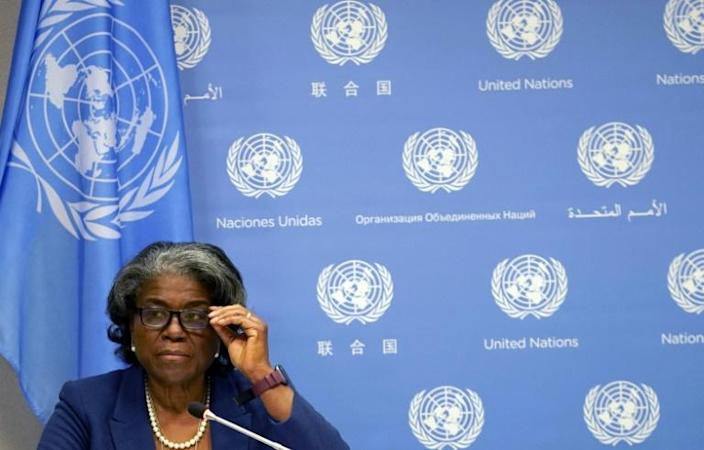 The new US ambassador to the United Nations, Linda Thomas-Greenfield, has urged Ethiopia to end the humanitarian crisis in the Tigray region