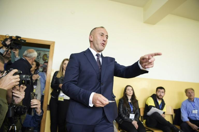 Ramush Haradinaj, who has stepped down as Kosovo's prime minister, is a polarising figure (AFP Photo/Armend NIMANI)