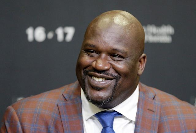 They don't call Shaquille O'Neal the Big Aristotle for nothing, it turns out. (AP)