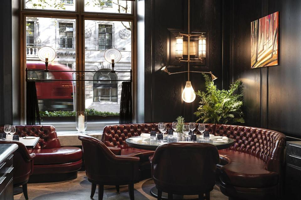 "<p>At the Corinthia on leafy Northumberland Avenue, guests can enjoy a pianist tinkling away during afternoon tea, some of the best penthouse views in the city and a Daniel Galvin salon, along with an Espa spa. Tom Kerridge has brought his beloved British pub fare to one of the restaurants, too – expect some serious fish and chips, along with dishes such as pig cheek's pie with clotted cream mash (it's as good as it sounds) and fillet of beef with gherkin ketchup. Or you can sit out for cocktails in the garden courtyard, open-air but sheltered enough to deal with the London weather.</p><p>From £594 a room a night (<a href=""https://go.redirectingat.com?id=127X1599956&url=https%3A%2F%2Fwww.corinthia.com%2Flondon%2F&sref=https%3A%2F%2Fwww.harpersbazaar.com%2Fuk%2Ftravel%2Fg34577114%2Fbest-london-hotels%2F"" rel=""nofollow noopener"" target=""_blank"" data-ylk=""slk:corinthia.com"" class=""link rapid-noclick-resp"">corinthia.com</a>).</p>"
