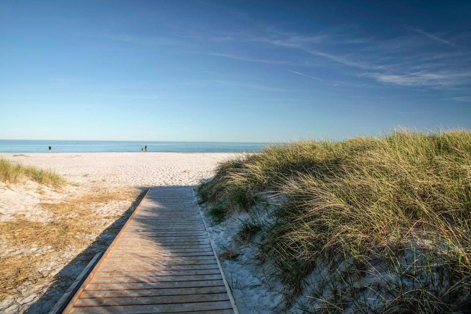 The fine, white sand of Dueodde (Getty Images/iStockphoto)