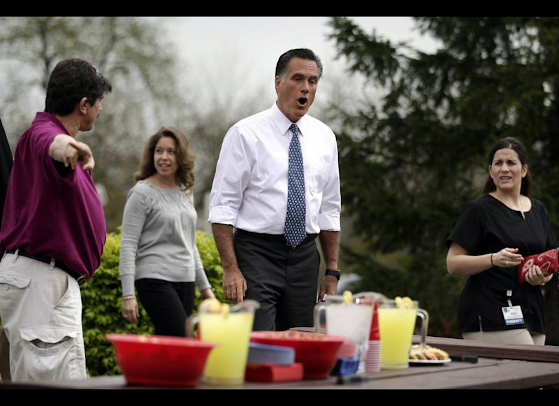 """Business surged for Pennsylvania's Bethel Bakery after Romney joked about its cookies: """"I'm not sure about these cookies,"""" Romney told a woman at the table. """"They don't look like you made them. No, no. They came from the 7-11 bakery, or whatever."""" <a href=""""http://www.huffingtonpost.com/2012/04/24/cookiegate-romney-cookie_n_1449848.html"""" target=""""_hplink"""">""""CookieGate""""</a> was great publicity for Bethel, in business since 1955."""