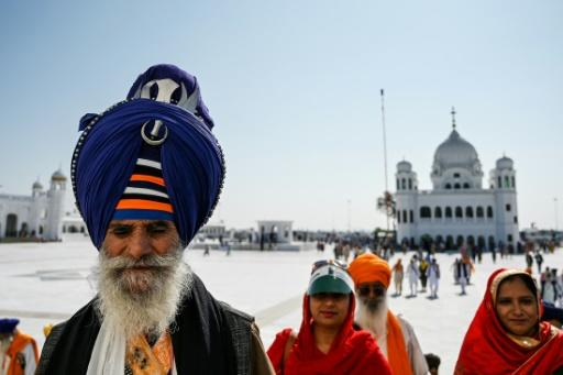 Sikh pilgrims can now travel to the Kartarpur shrine through a special visa-free corridor from India