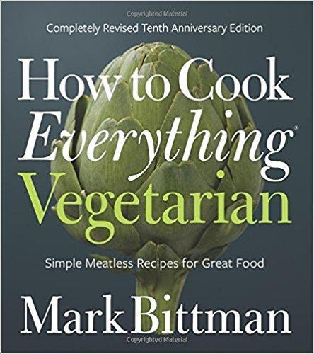 How to make everything vegetarian book cover