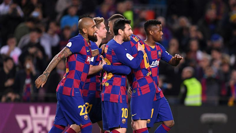 Barcelona 5-0 Leganes: Magnificent Messi at the double in Copa cruise