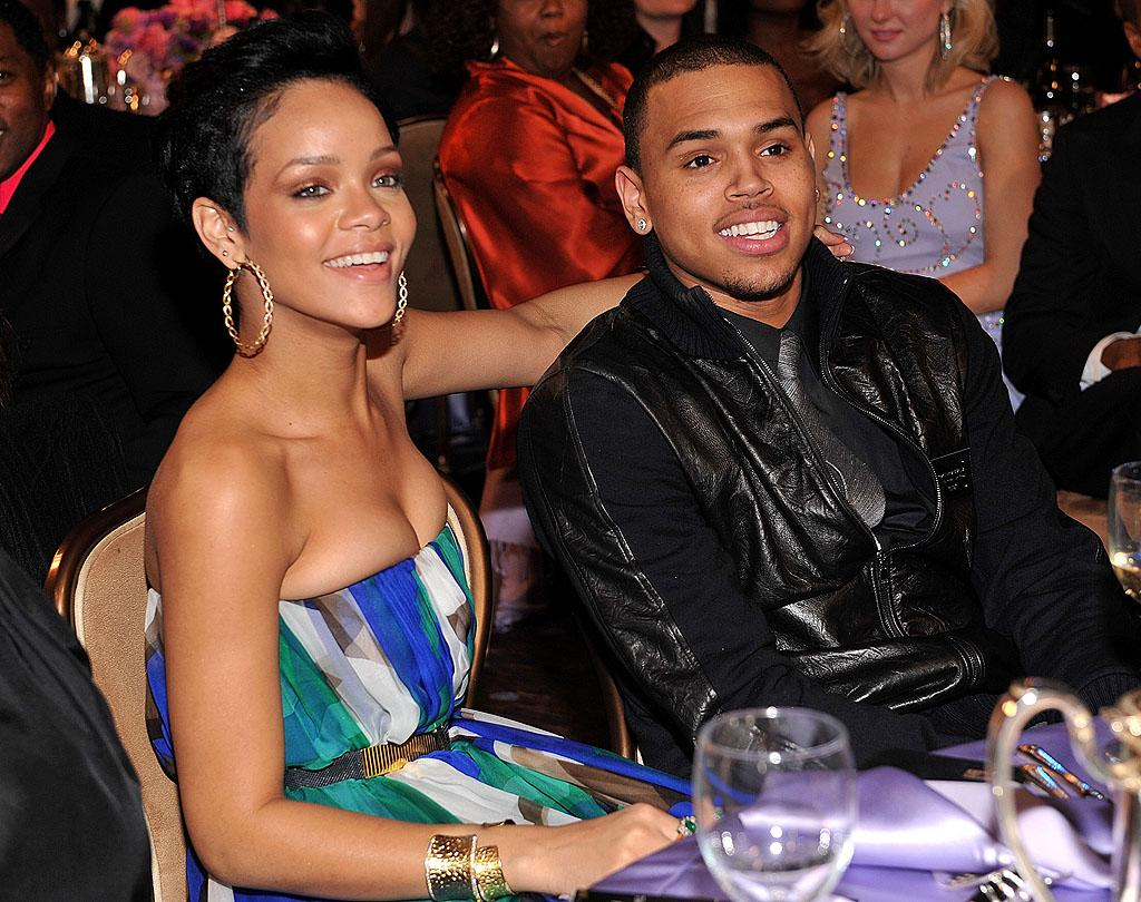 """<b><span>Chris Brown Assaults Rihanna</span></b><span><b> </b><br>The night before the 2009 Grammys should have been an exciting one for R&B singer Chris Brown and his pop star girlfriend Rihanna as the two attended a pre-Grammys party at legendary music producer Clive Davis' home, but the evening ended with the wrong kind of excitement. According to police reports, Brown, then 19, and Rihanna, 20 at the time, got into an argument in his rented Lamborghini, which was parked in L.A.'s Hancock Park neighborhood. After he tried to push her out of the car, he shoved her head against the window, punched her continuously, put her in a headlock, and bit her fingers. The argument, Rihanna later told """"20/20,"""" stemmed from her confronting Brown about getting text messages from another woman. After Rihanna finally escaped from the car, a neighborhood resident called 911 and Brown was arrested. """"I couldn't take that he kept lying to me, and he couldn't take that I wouldn't drop it. ... It escalated into him being violent towards me. And it was ugly,"""" she explained to Diane Sawyer. """"I was battered, I was bleeding, I was swollen in my face,"""" she said. Brown eventually pled guilty to assault and received five years probation and 1,400 hours of """"labor-oriented"""" community service. </span>"""