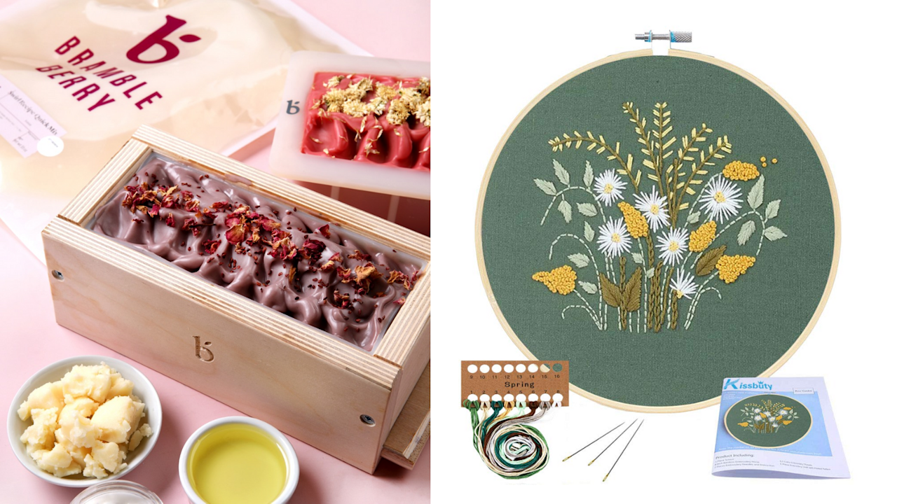 15 popular arts-and-crafts kits adults will love