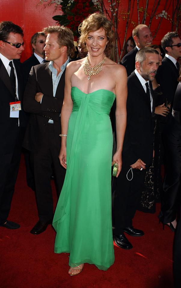 Allison Janney at the 56th Annual Primetime Emmy Awards in Los Angeles.