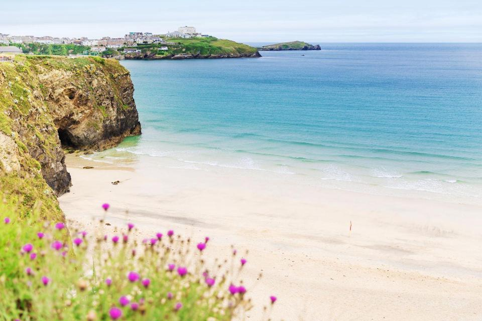 "<p>If you visit Chapel Porth at low tide, miles of golden sands await you and your dog for exploration and games. The entrance to the beach is at the base of a mining valley, studded with iconic wheel houses and stone ruins with the remains of Wheal Coates and Good Charlotte close by.</p><p><strong>Where to stay:</strong> The stylish family-run <a href=""https://go.redirectingat.com?id=127X1599956&url=https%3A%2F%2Fwww.booking.com%2Fhotel%2Fgb%2Fbeacon-country-house.en-gb.html%3Faid%3D2070935%26label%3Ddog-friendly-beaches&sref=https%3A%2F%2Fwww.countryliving.com%2Fuk%2Ftravel-ideas%2Fdog-friendly%2Fg35163642%2Fdog-friendly-beaches%2F"" rel=""nofollow noopener"" target=""_blank"" data-ylk=""slk:Beacon Country House Hotel"" class=""link rapid-noclick-resp"">Beacon Country House Hotel</a><br> is surrounded by picturesque Cornish countryside, close to the rugged coast and the restaurant's beautiful views means you can watch the local wildlife while enjoying breakfast or dinner. </p><p><a class=""link rapid-noclick-resp"" href=""https://go.redirectingat.com?id=127X1599956&url=https%3A%2F%2Fwww.booking.com%2Fhotel%2Fgb%2Fbeacon-country-house.en-gb.html%3Faid%3D2070935%26label%3Ddog-friendly-beaches&sref=https%3A%2F%2Fwww.countryliving.com%2Fuk%2Ftravel-ideas%2Fdog-friendly%2Fg35163642%2Fdog-friendly-beaches%2F"" rel=""nofollow noopener"" target=""_blank"" data-ylk=""slk:CHECK PRICES"">CHECK PRICES</a></p>"