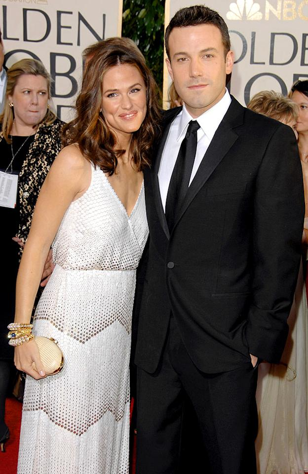 "Hollywood power-couple Jennifer Garner and Ben Affleck met while making ""Daredevil."" George Pimentel/<a href=""http://www.wireimage.com"" target=""new"">WireImage.com</a> - January 15, 2007"