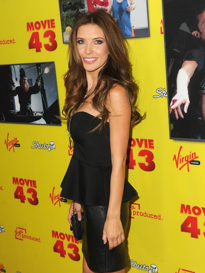 "HOLLYWOOD, CA - JANUARY 23:  Actress Audrina Patridge attends the premiere of Relativity Media's ""Movie 43"" at TCL Chinese Theatre on January 23, 2013 in Hollywood, California.  (Photo by Kevin Winter/Getty Images)"