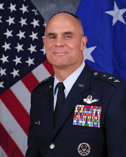 This photo provided by the U.S. Air Force shows Lt. Gen. Craig Franklin. The case involving Franklin who dismissed charges against a lieutenant colonel convicted of sexual assault will be reviewed at the top levels of the Pentagon, Defense Secretary Chuck Hagel said in a letter released Monday, March 11, 2013. But it's seemed unlikely that the ruling would be changed. Hagel said that under military law, neither he nor the Air Force secretary has the authority to reverse Franklin's decision to overturn the conviction against Lt. Col. James Wilkerson, a former inspector general at Aviano Air Base in Italy. (AP Photo/U.S. Air Force)