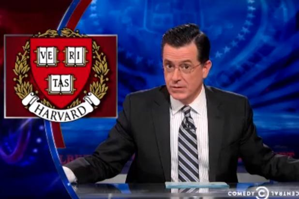 Stephen Colbert: 'Obamacare Is 58 Times Harder to Get Into Than Harvard' (Video)