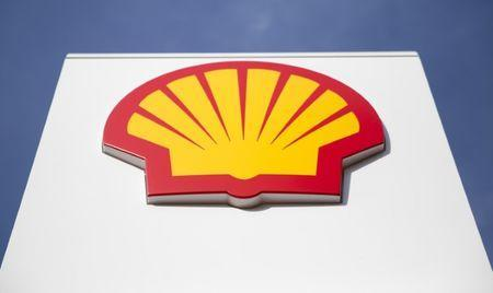 FILE PHOTO: A logo for Shell is seen on a garage forecourt in central London March 6, 2014. REUTERS/Neil Hall