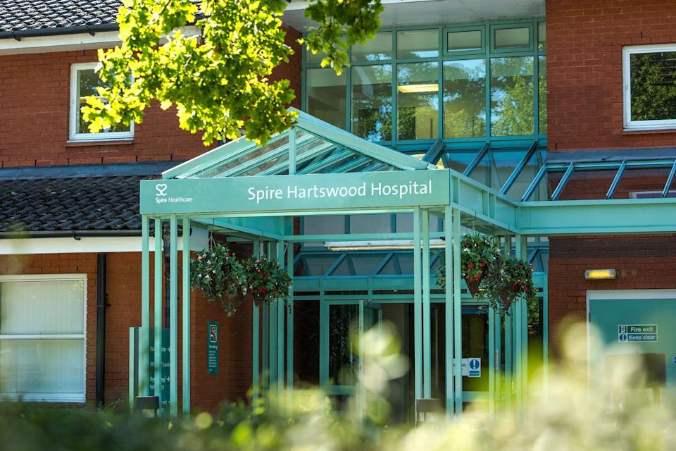 Spire Healthcare runs a number of private hospitals in the UK (Spire press image)