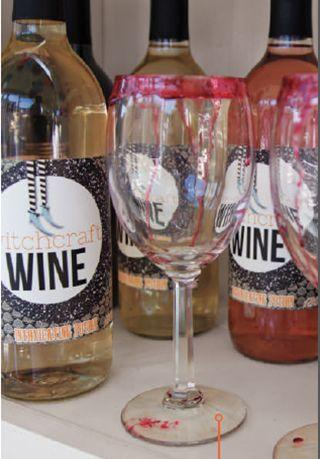 """<p>Give simple wine glasses a creepy look with light corn syrup tinted with red food coloring. </p><p><strong><em><a href=""""https://www.womansday.com/home/crafts-projects/a28903211/ghoulish-glassware/"""" rel=""""nofollow noopener"""" target=""""_blank"""" data-ylk=""""slk:Get the Ghoulish Glassware tutorial"""" class=""""link rapid-noclick-resp"""">Get the Ghoulish Glassware tutorial</a>. </em></strong></p><p><a class=""""link rapid-noclick-resp"""" href=""""https://www.amazon.com/Coloring-Bottle-Odorless-Tasteless-Edible/dp/B07HR2XWP6?tag=syn-yahoo-20&ascsubtag=%5Bartid%7C10070.g.1908%5Bsrc%7Cyahoo-us"""" rel=""""nofollow noopener"""" target=""""_blank"""" data-ylk=""""slk:SHOP RED FOOD COLORING"""">SHOP RED FOOD COLORING</a></p>"""