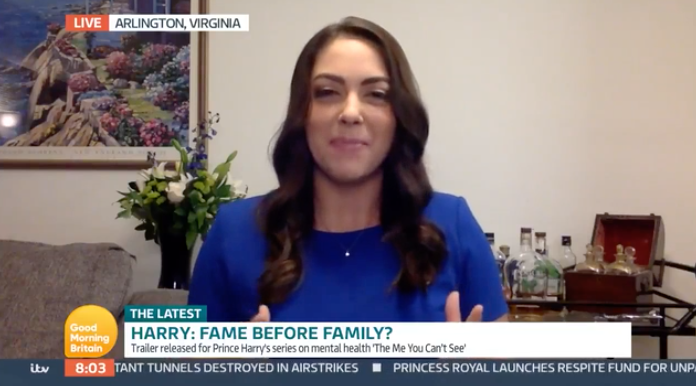 Amber Athey, the Washington editor for The Spectator US speaks on Good Morning Britain.