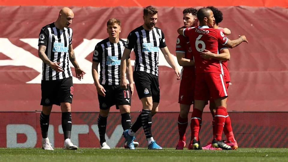 Premier League, Liverpool held by Newcastle United: Records broken