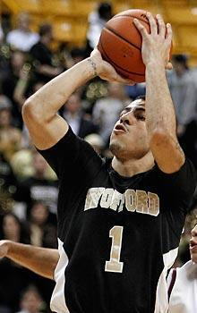 Cameron Rundles and Wofford have a shot at pulling off an NCAA upset, and their shooting is a big reason why