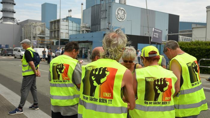 L'intersyndicale de General Electric à Belfort repousse l'ultimatum lancé au gouvernement