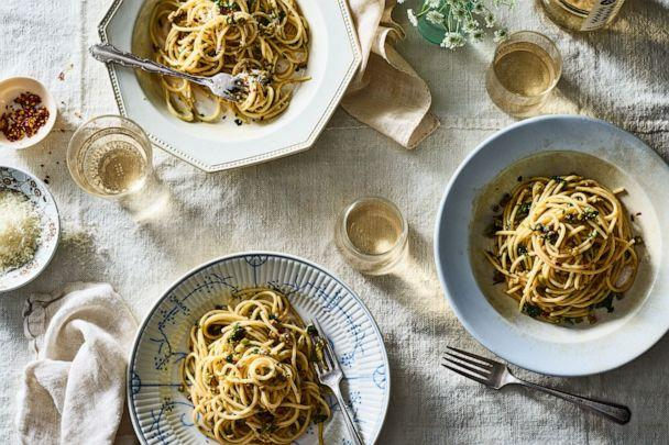 PHOTO: Pantry Pasta With Anchovies, Olives and Capers from Food52. (James Ransom)