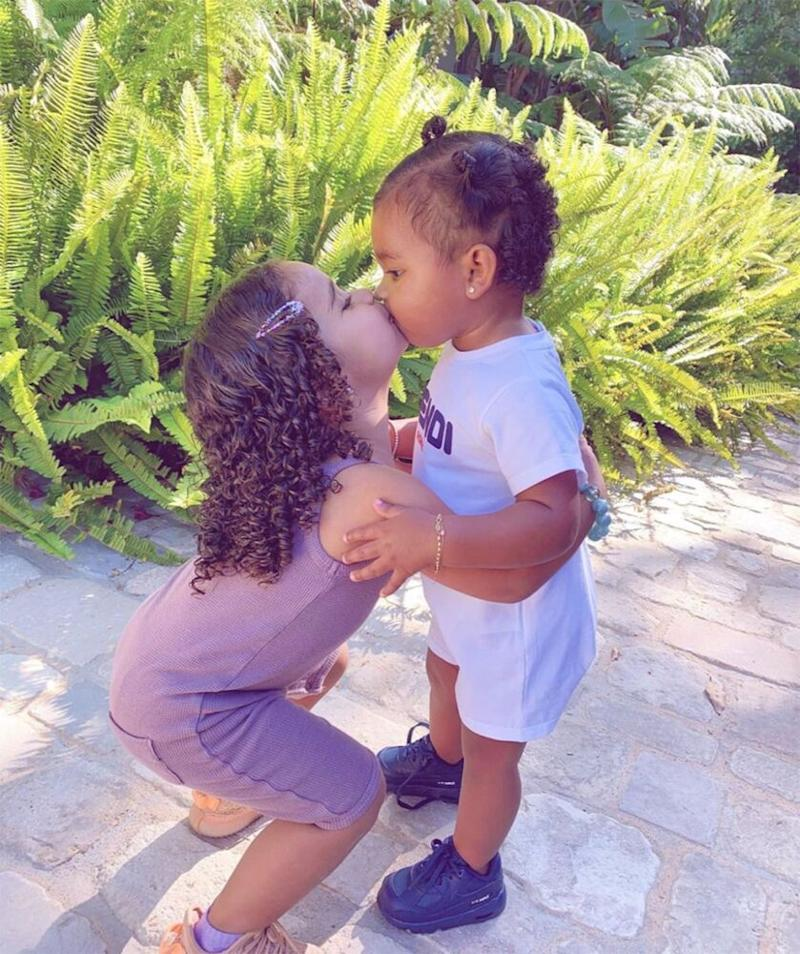 Dream Kardashian (L) and True Thompson | Khloe Kardashian/Instagram