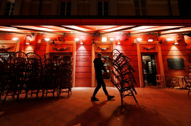 France imposes a new nightly curfew, in Nice