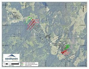 Plan Map of Current Drilling