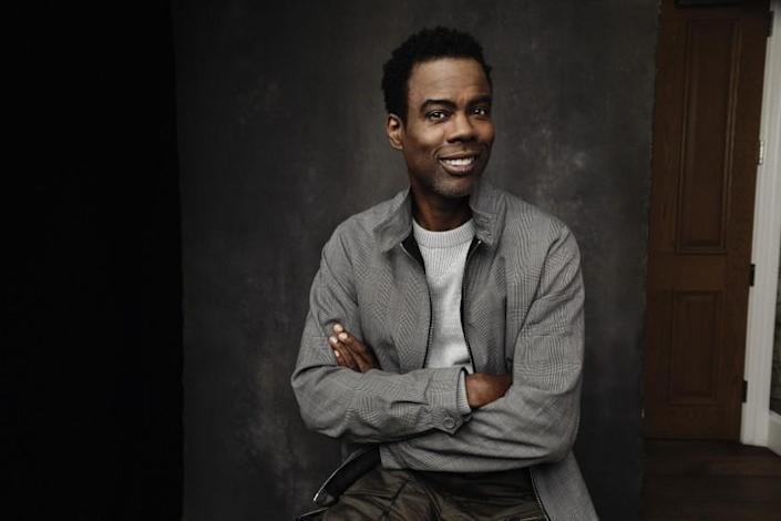 """FOR SUNDAY CALENDAR STORY RUNNING MAY 16, 2021***NEW YORK, NEW YORK, MAY 6, 2020. Chris Rock who stars with Samuel L. Jackson in the upcoming horror movie, """"Spiral"""" is seen at the Crosby Hotel in SOHO, NY, NY. 05/06/2021 Photo by Jesse Dittmar / For The Times"""