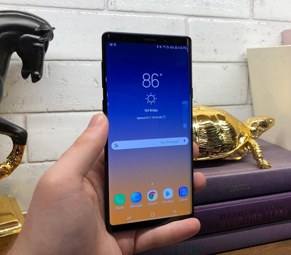 Samsung's Galaxy Note 9 is virtually identical to the Note 8.
