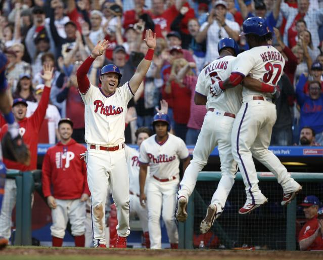 After years of rebuilding, the Phillies are getting serious about competing. (Getty Images)