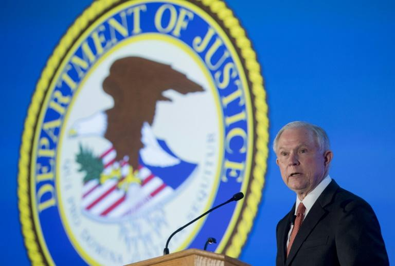 "US Attorney General Jeff Sessions: ""The Department of Justice will not be improperly influenced by political considerations"""