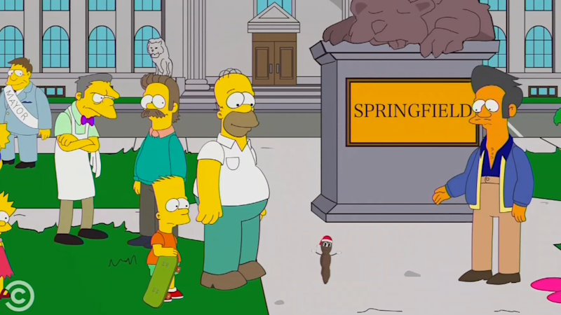 Surprise 'South Park' Ending Is A Massive Troll Of 'The Simpsons'