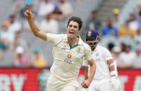 Day two of the second test match between Australia and India at The MCG, Melbourne