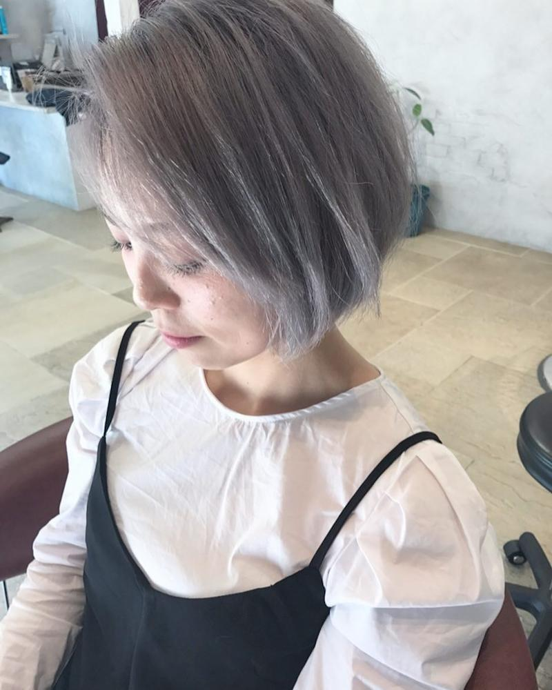Gray Balayage by S.A.D's Hair Design