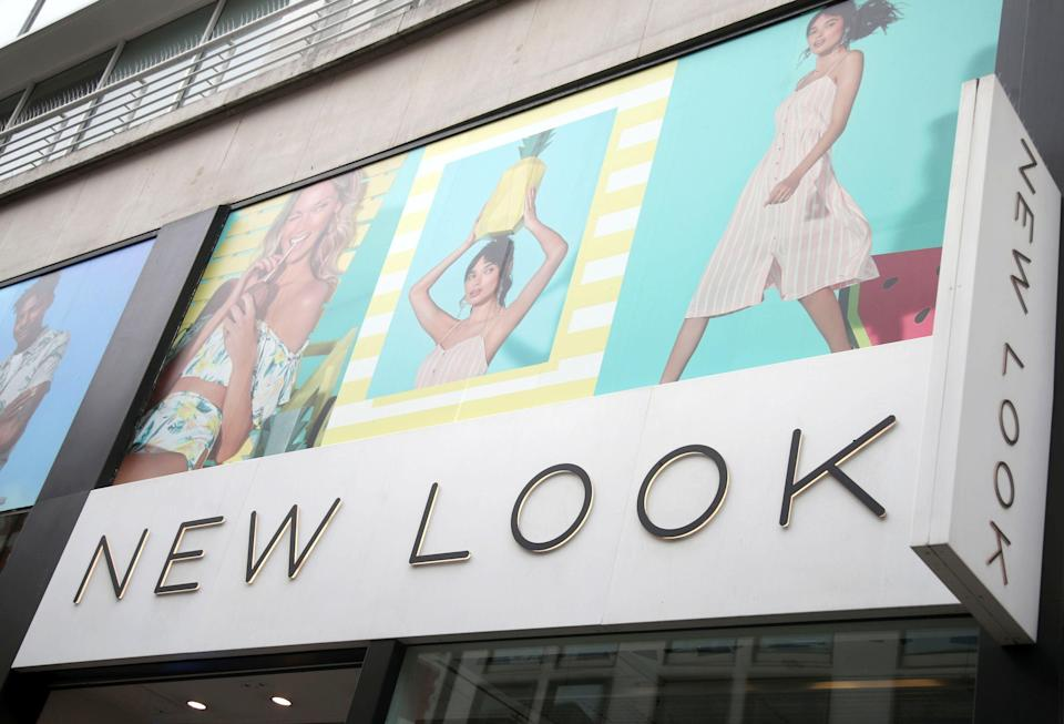 A branch of New Look on Oxford Street, central London (Yui Mok/PA) (PA Archive)