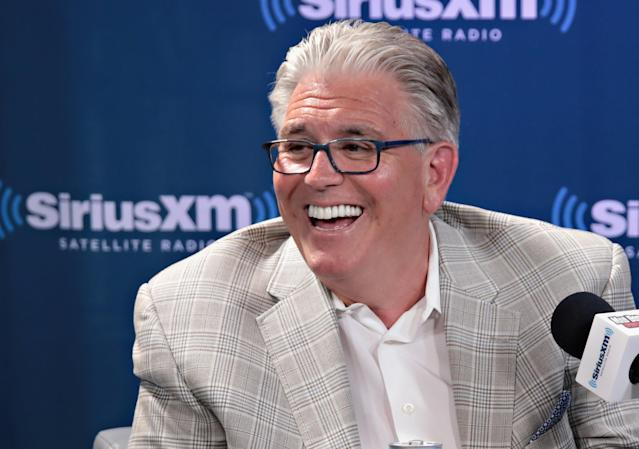 Mike Francesa would like to manage the Yankees. (Getty Images)