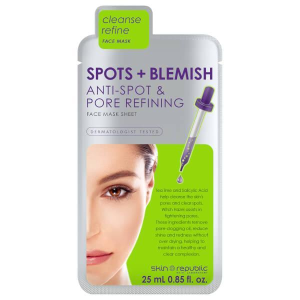 """<p>For skin that's prone to spots, this cleansing and refining sheet mask helps to clear your skin of excess oil and blemishes, without over-drying your face. With tea tree oil, salicylic acid and witch hazel, it's rich in natural anti-inflammatories and spot-busting ingredients.<br><a href=""""http://tidd.ly/6993a99f"""" rel=""""nofollow noopener"""" target=""""_blank"""" data-ylk=""""slk:Buy here"""" class=""""link rapid-noclick-resp"""">Buy here</a> </p>"""