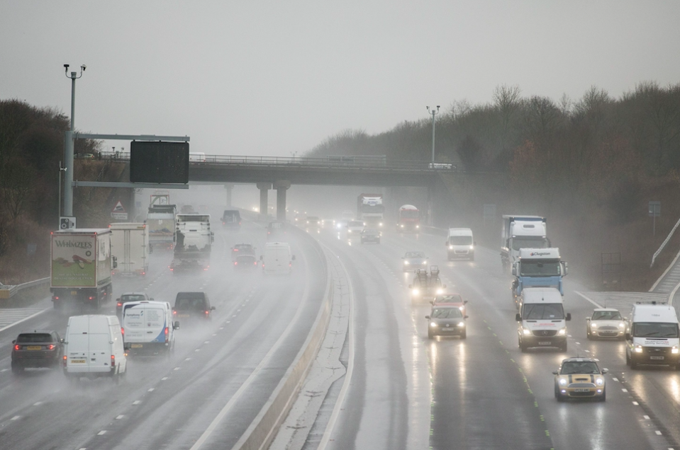 <em>The crash on the M1 motorway claimed the lives of eight people (Rex/stock photo)</em>