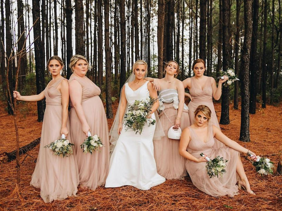 bridesmaid pumping pic