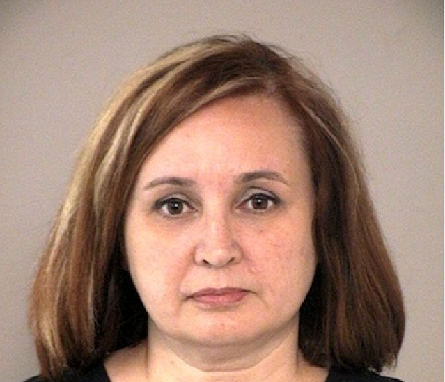 Michele Bernier faces a first-degree felony charge for theft. (@FBCSO on Twitter)