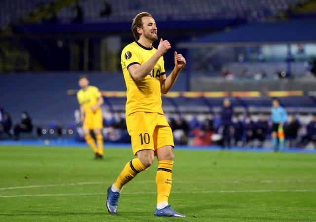 The future of Harry Kane has been the subject of much speculation (Luka Stanzl/PA)