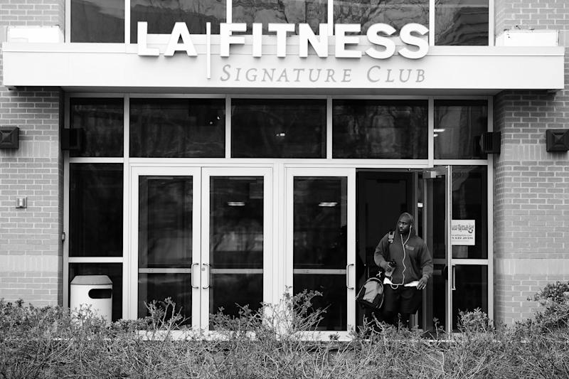 two black men went to work out at la fitness in secaucus new jersey sunday night and were asked to leave by the cops allegedly gym employees dialed 911