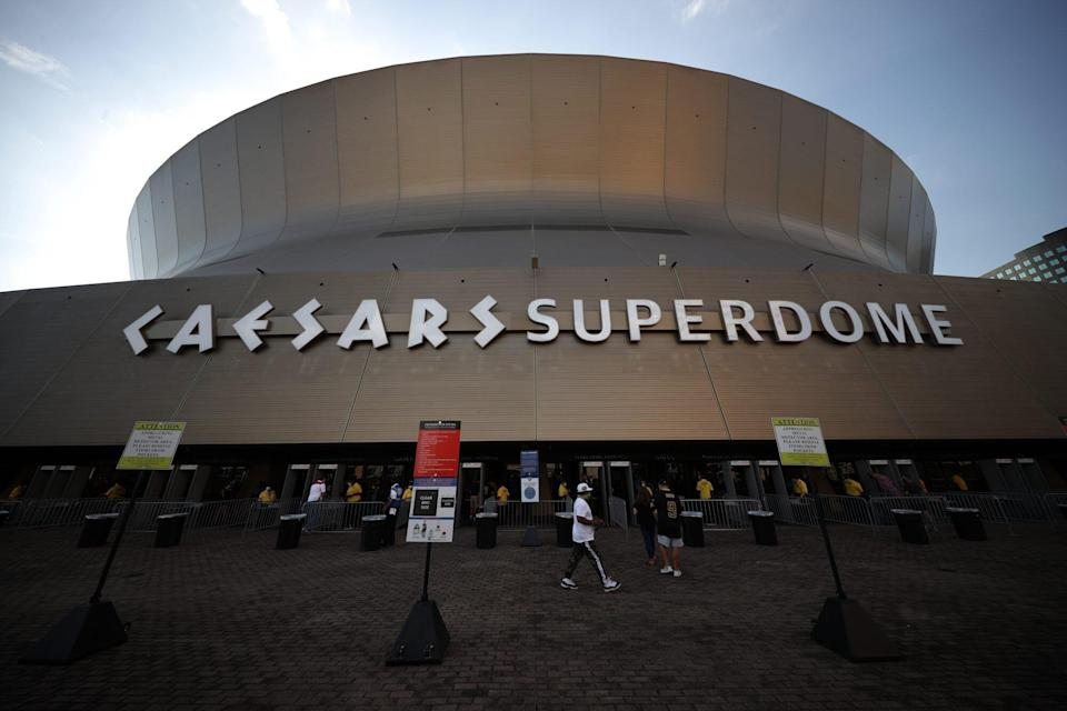 New Orleans super dome fire