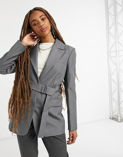 "<br><br><strong>Topshop</strong> Belted Blazer, $, available at <a href=""https://go.skimresources.com/?id=30283X879131&url=https%3A%2F%2Ffave.co%2F3joGslG"" rel=""nofollow noopener"" target=""_blank"" data-ylk=""slk:ASOS"" class=""link rapid-noclick-resp"">ASOS</a>"