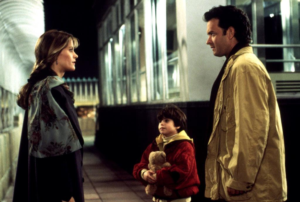 """HIT: <a href=""""http://movies.yahoo.com/movie/contributor/1800010392"""">Tom Hanks</a> and <a href=""""http://movies.yahoo.com/movie/contributor/1800017434"""">Meg Ryan</a>, <a href=""""http://movies.yahoo.com/movie/1800191133/info"""">Sleepless in Seattle</a>  Meg was the rom-com go-to girl in the late '80s and early '90s, thanks to hits like """"<a href=""""http://movies.yahoo.com/movie/1800134855/info""""></a>."""" But when she was paired up with Hollywood's ultimate Mr. Nice Guy, the result was cinematic gold."""