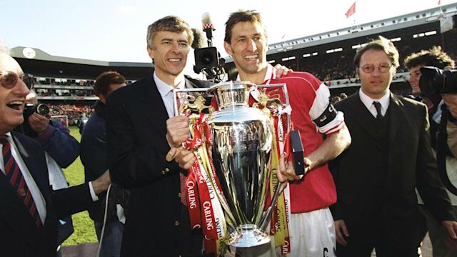 Tony Adams won the Premier League with Arsene Wenger at Arsenal, but has claimed the Frenchman taught him nothing.