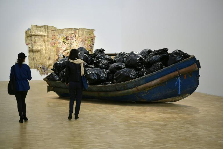 """""""Hope"""", by the Algerian artist Adel Abdessemed, at Milan's Restless Earth exhibition"""