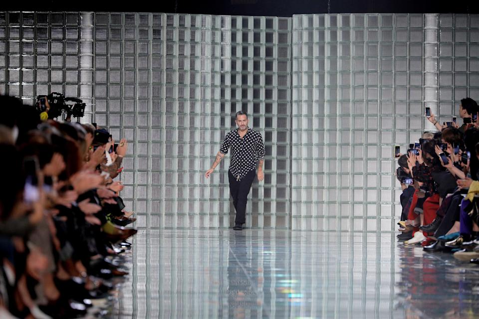 Marc Jacobs ruffled feathers with his delayed show. (Photo: Randy Brooke/WireImage)