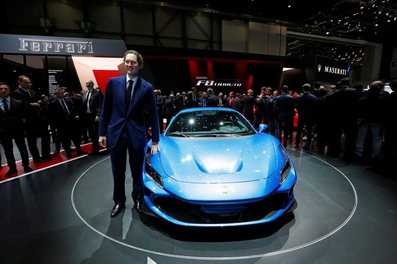 FILE PHOTO: 89th Geneva International Motor Show in Geneva